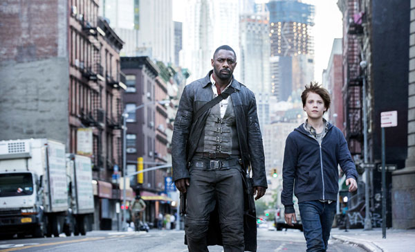Roland (Idris Elba) and Jake Chambers (Tom Taylor) in THE DARK TOWER (2017)