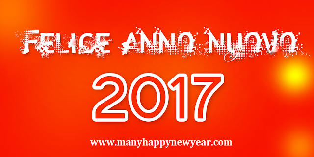 Happy New Year 2017 Images in Italian