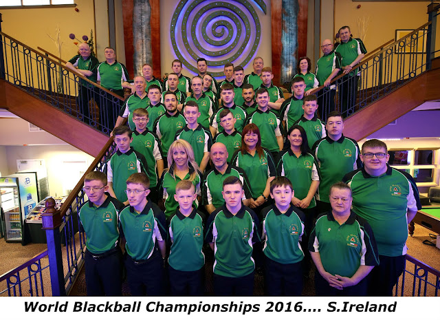 World Blackball Championships 2016 S. Ireland