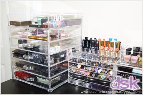 Muji makeup organizer