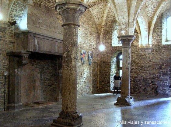 Sala de audiencias, castillo de los Condes, Gante, Belgica