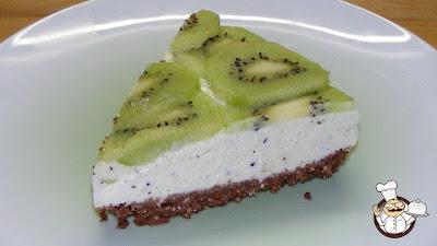 Cheesecake al kiwi.