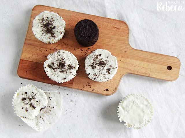 Pasteles helados de galletas Oreo