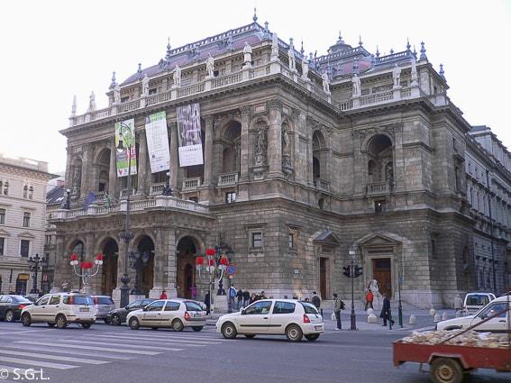 La opera. 16 cosas que ver y hacer en Budapest