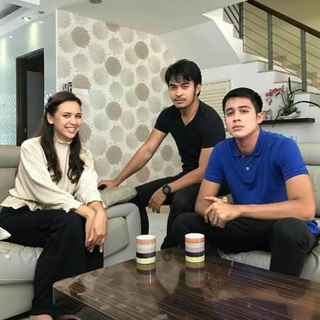 Drama Di Sebalik Wajah Lakonan Diana Danielle, Aliff Aziz dan Hefny Sahad