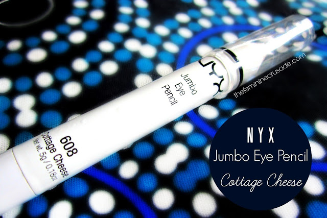 NYX Jumbo Eye Pencil in Cottage Cheese
