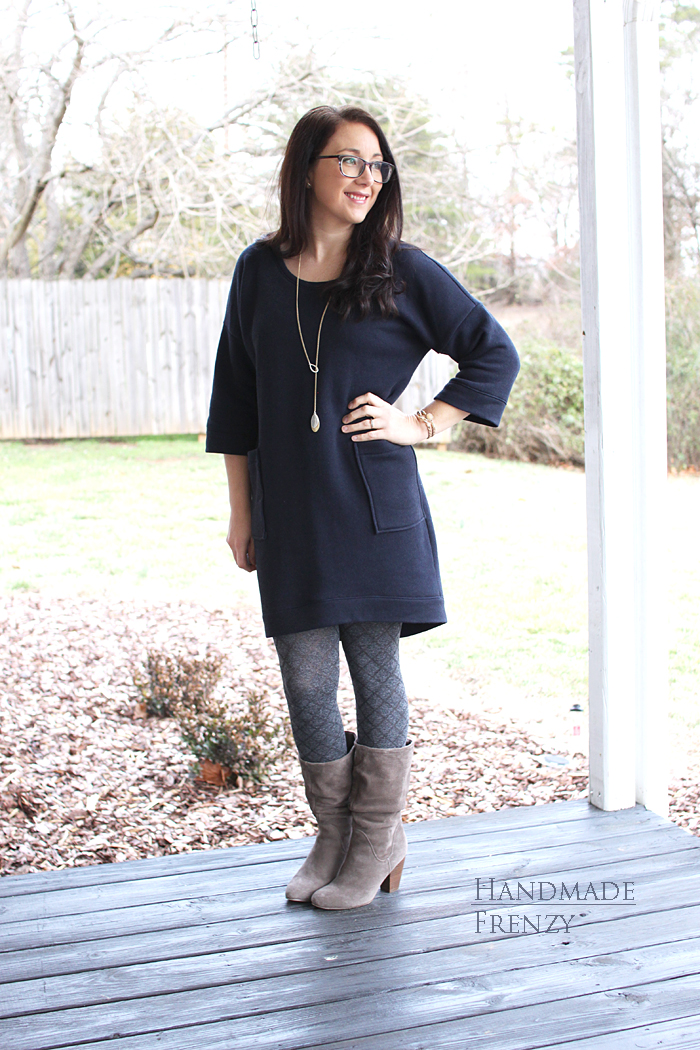 Lou Box Dress 1 // Sewing For Women