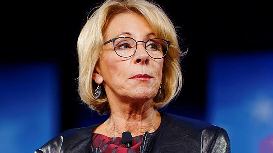What Betsy Devos Calls Education >> The Godless Liberal Education Secretary Betsy Devos Calls To