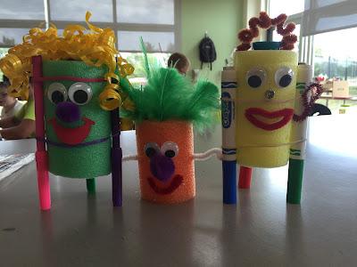 Noodle Bot - STEM Activities for Kids - Green Kid Crafts ...  |Art Bot Pool Noodle