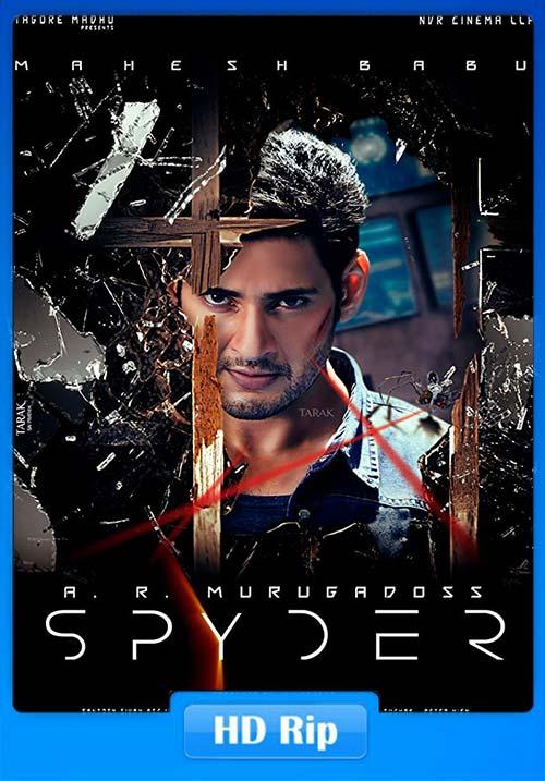 Spyder 2017 Hindi UNCUT 720p WEB HDRip Dual Audio | 480p 400MB | 200MB HEVC Poster