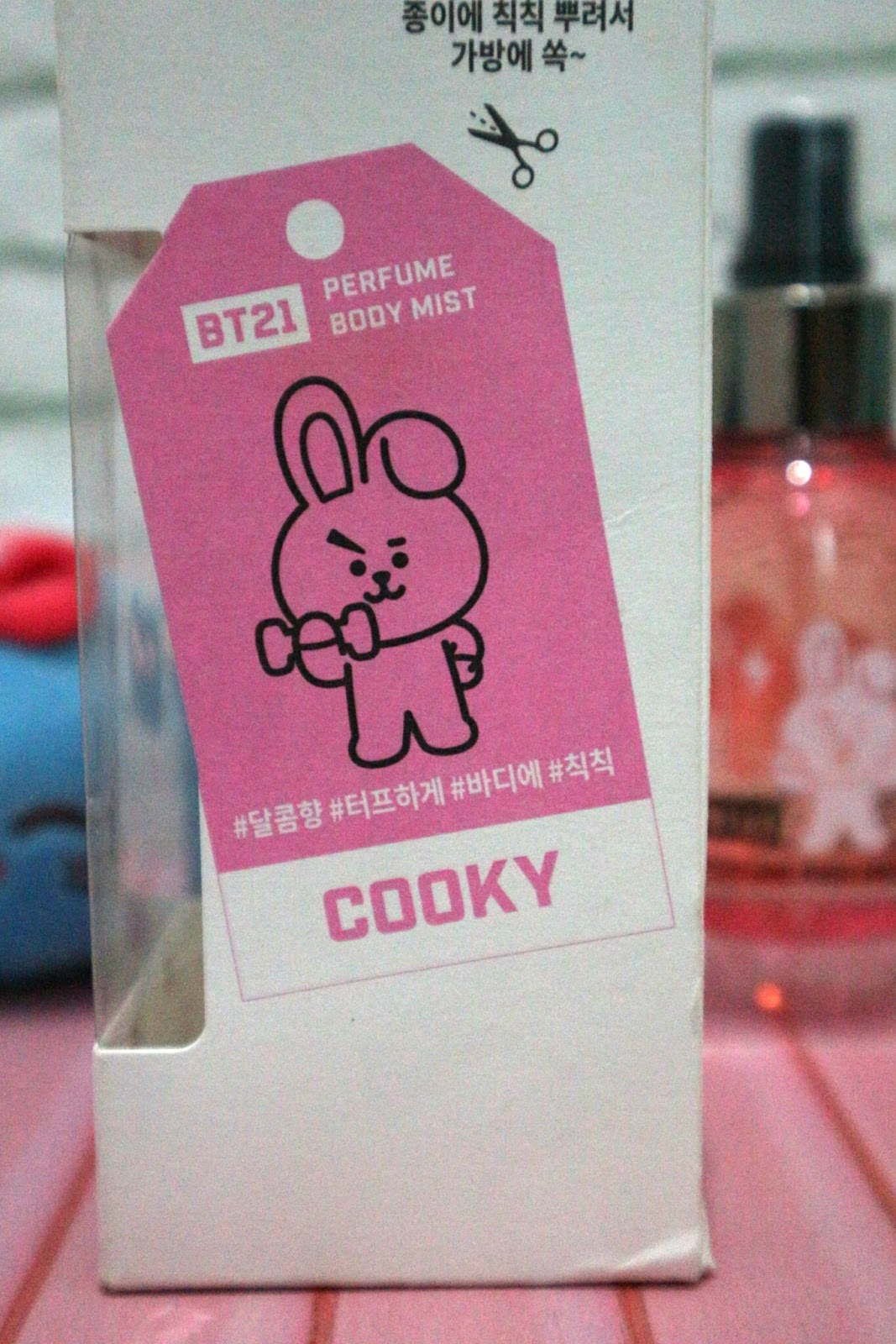 Review Parfumnya BTS Body Mist BT21 x Olive Young