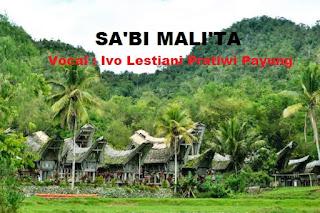 Lirik Lagu Toraja Sa'bi Mali'ta