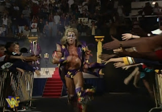 WWF / WWE - King of the Ring 96 - Ultimate Warrior races to the ring to face Jerry Lawler