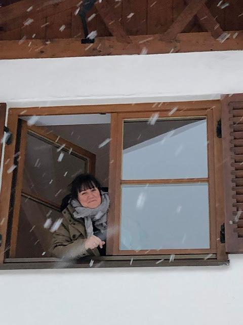 Fensterblick, 4Eck, Restaurant, Garmisch-Partenkirchen, Bar, Logo, Viereck, for you, Nachhaltigkeit, echt coole Küche, Uschi Glas, Kerstin Schumann, Küchenchef Sven Karge, Klammstraße, ehemalige Nordsee,