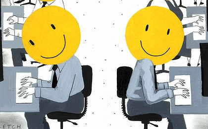 """Read """"Are you happily productive or productively happy"""" p"""