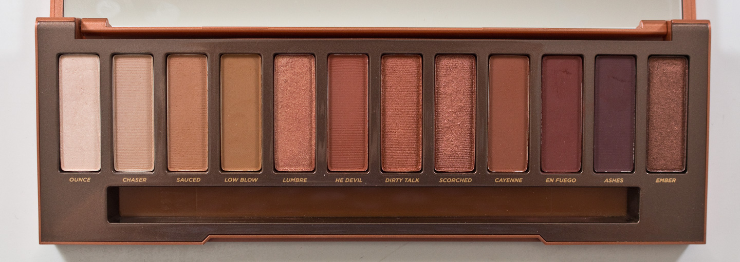 WARPAINT and Unicorns: Urban Decay Naked Palette: Swatches