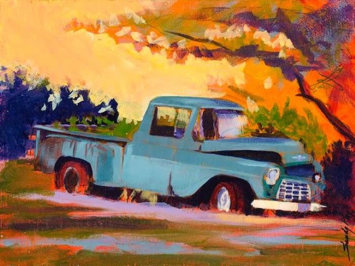 Современная американская художница. Sandy Kay