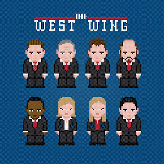 The West Wing - Cross Stitch PDF Pattern Download