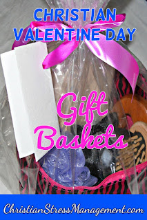 Christian Valentine Day gift baskets