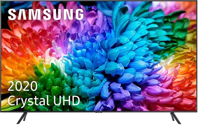 Samsung Crystal UHD 2020 65TU7105: Smart TV de 65'' con resolución 4K, Alexa, Wi-Fi 5 y Disney+