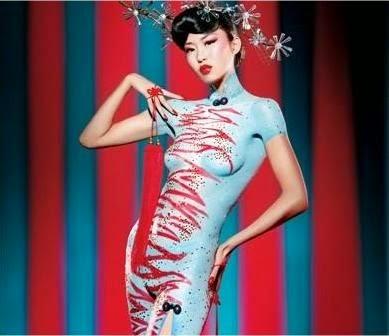 Body Painting Dresses 2014