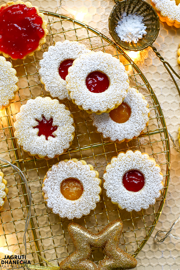 Linzer cookies are just a mini version of the nutty and buttery Linzertorte and these cookies are a staple during Christmas period in Austria and Germany.