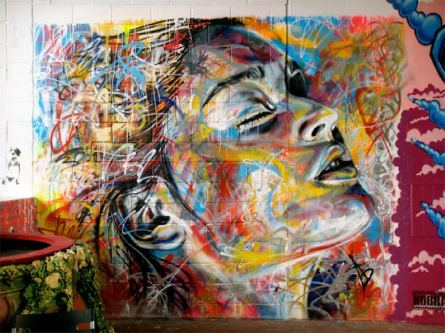 Уличный художник Дэвид Уокер (David Walker) 7