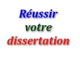 Comment russir une dissertation