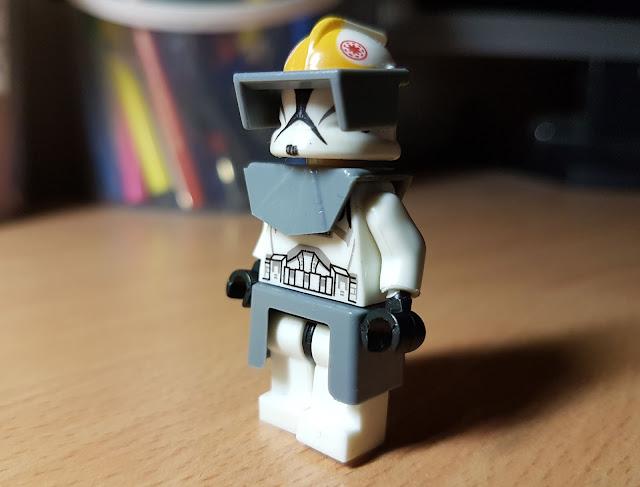 Клон пилот республики фигурка лего купить