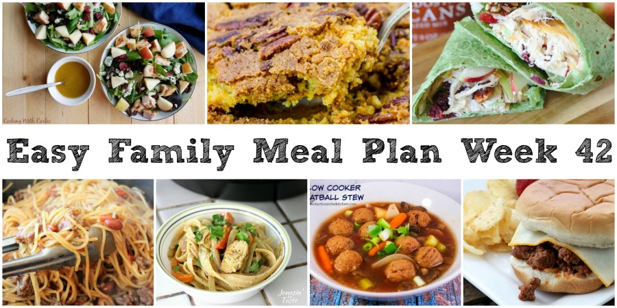 Cooking with carlee easy family meal plan week 42 what a weekend already have you been having fun too we had a halloween party with little dudes daycare friends yesterday they had snacks did some art forumfinder Images