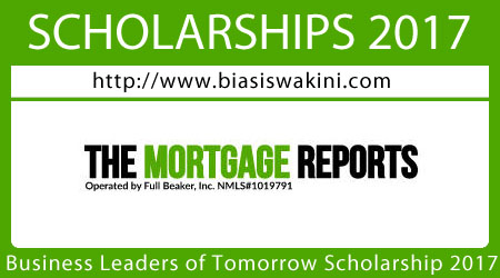 Business Leaders of Tomorrow Scholarship 2017