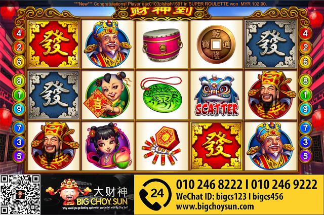 ClubSunCity Casino | Choy Sun Doa | Malaysia Online Casino Slot Game