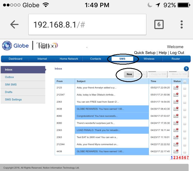 how to register globe lte pocket wifi to globe internet