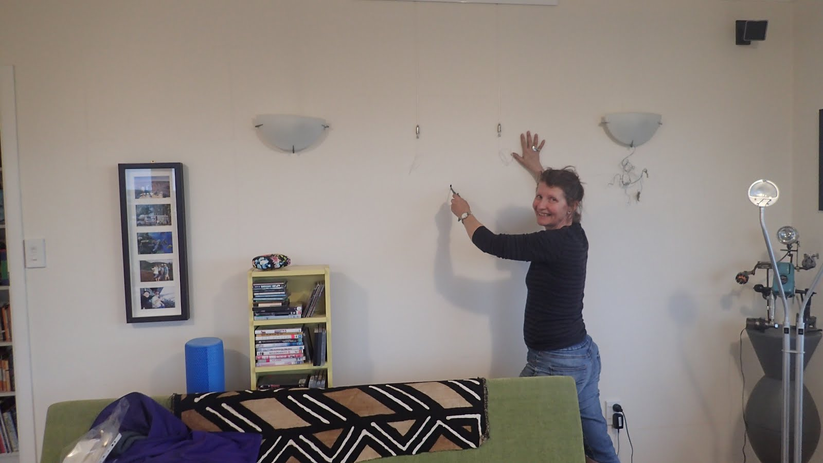 Mish at work: Let's cut holes in this wall