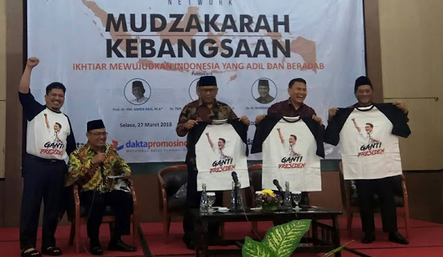 #2019GantiPresiden Ramaikan Mudzakarah Kebangsaan Dakta