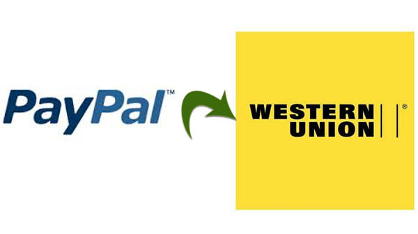 Western Union Paypal