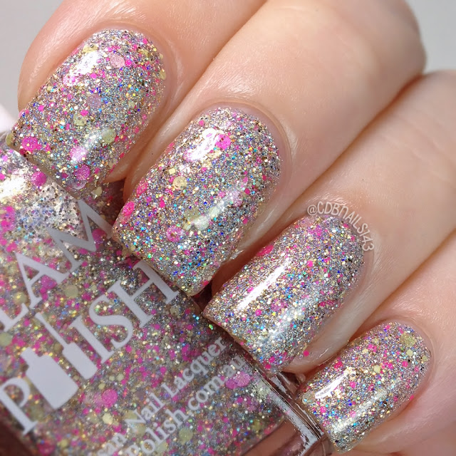 Glam Polish-Keep Calm and Flutter On