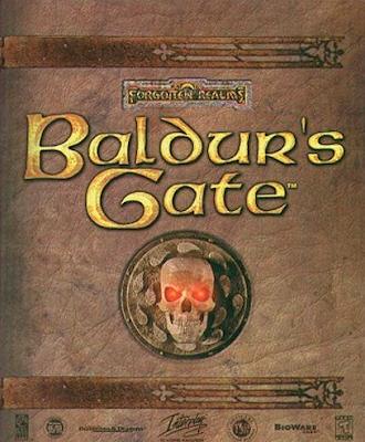 Portada del Baldur´s Gate