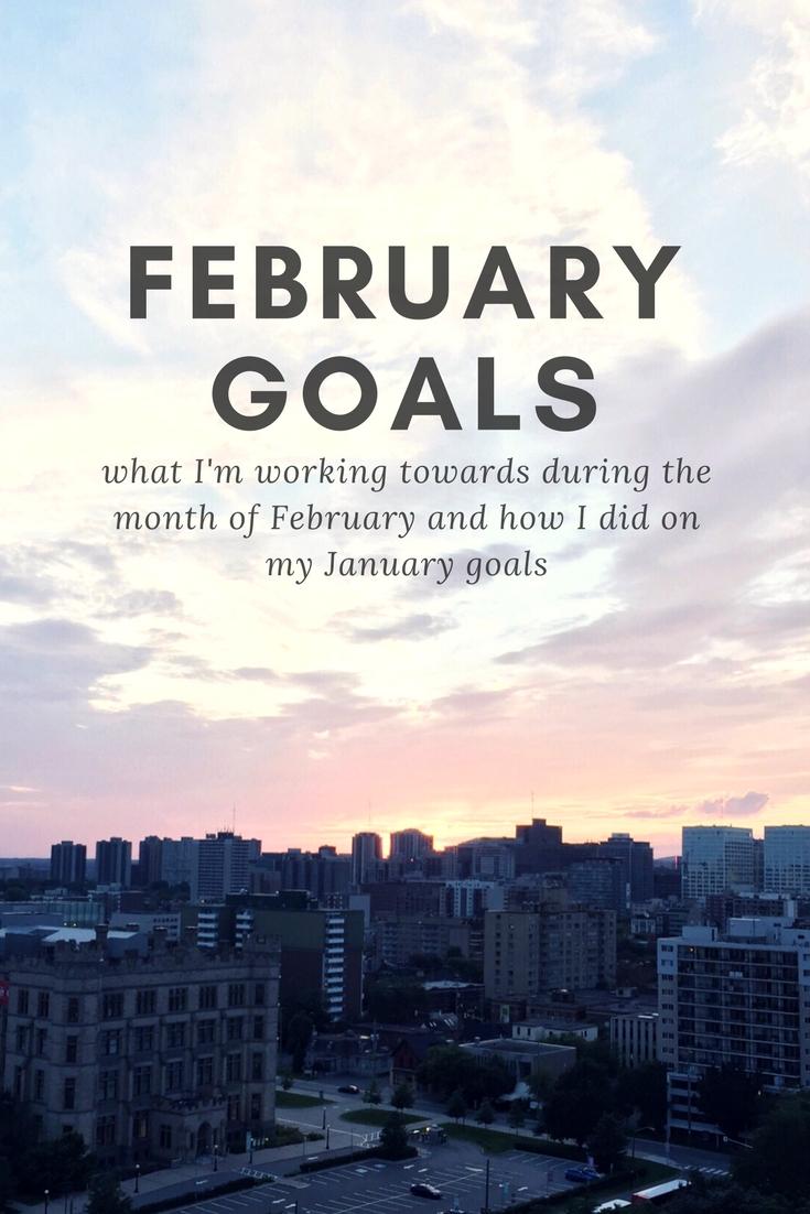 February Goals | kathleenhelen
