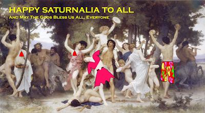 History of Christmas - Roman Saturnalia