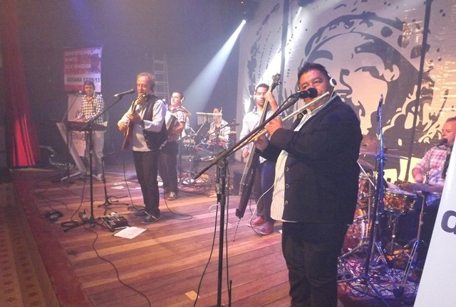 Quinteto Violado no Festival de Quadrilhas
