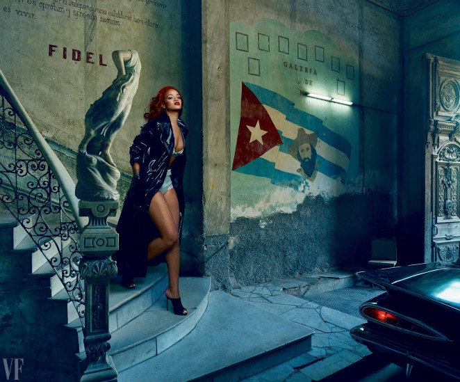 Rihanna – Vanity Fair Magazine (November 2015)