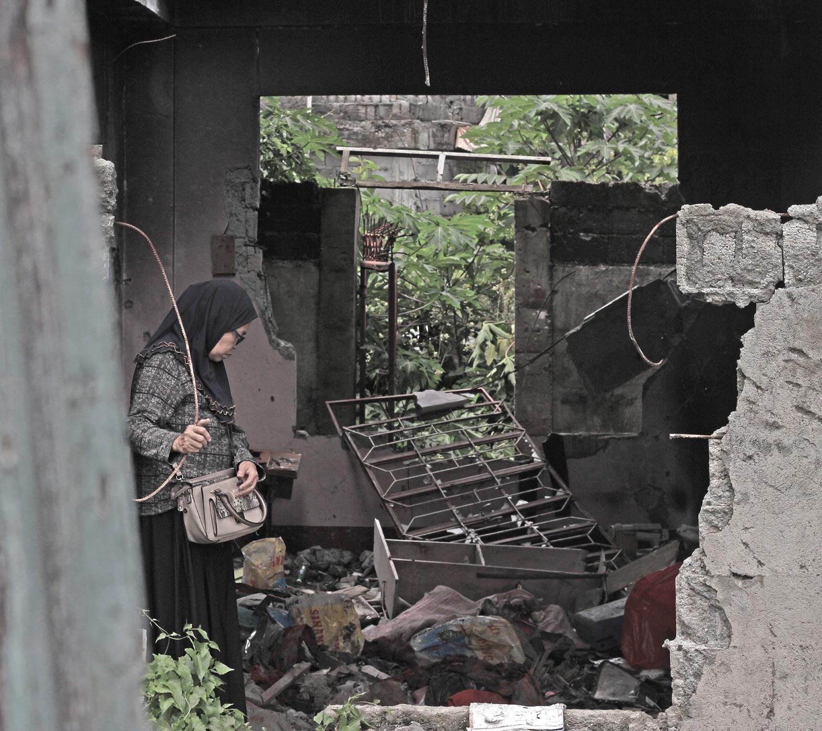 Marawi IDP during the kambisita