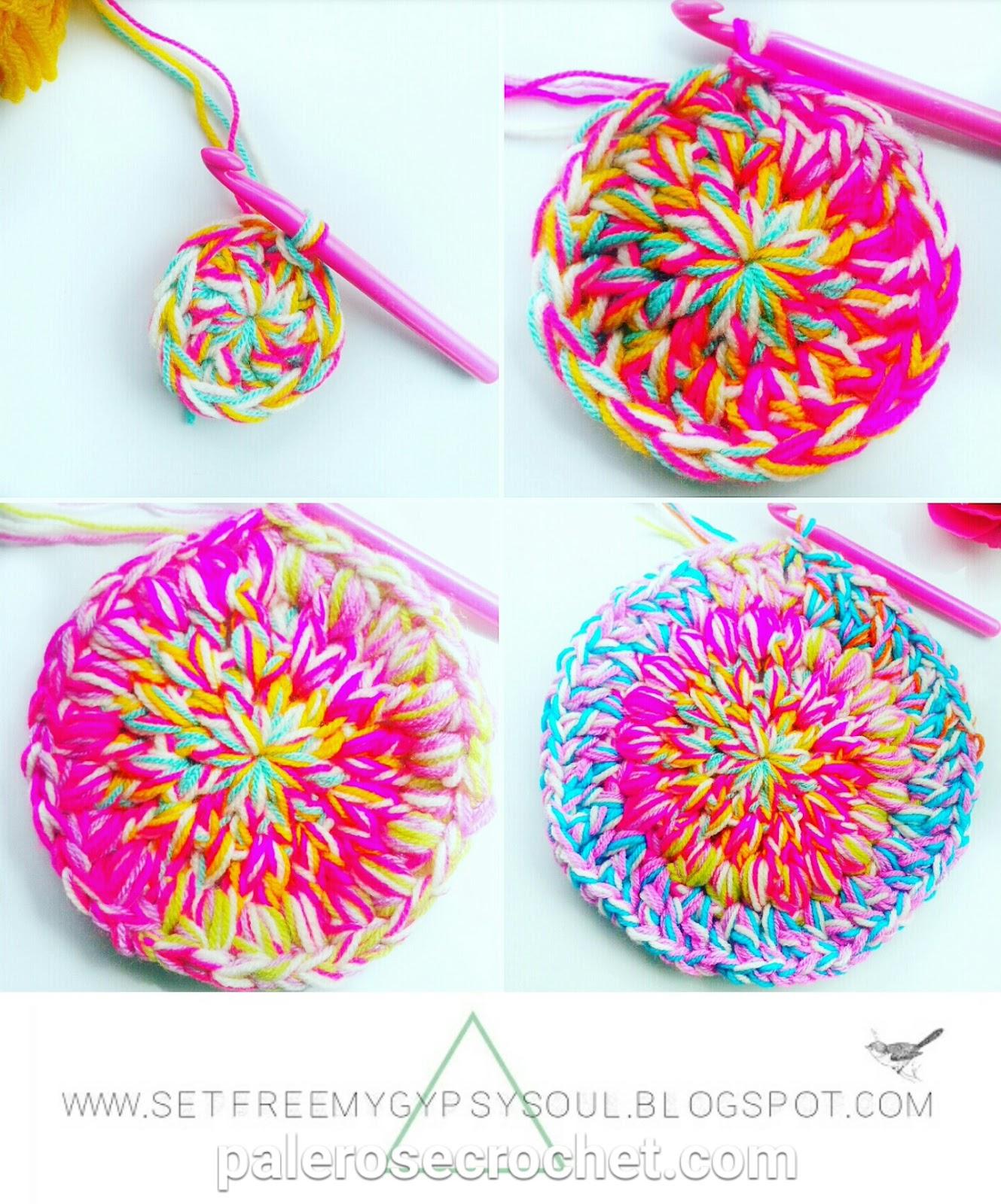 Crochet Patterns Using Mandala Yarn : Busting Crochet Doily Rug and DIY Unicorn Yarn Free Crochet Pattern ...