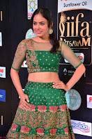 Nandita Swetha in a tight Green Choli Ghagra at IIFA Utsavam Awards March 2017 ~ 024.JPG