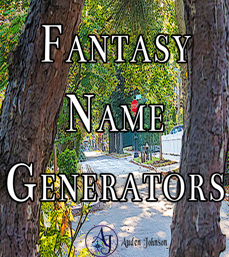 Inspiration from Fantasy Name Generators
