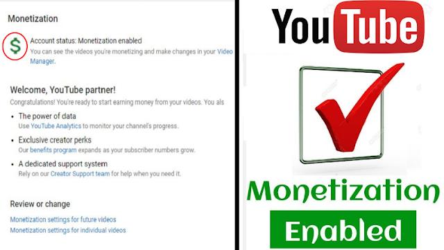 Youtube Monetize update 2019
