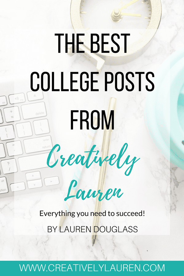 The Best College Posts from Creatively Lauren Ebook