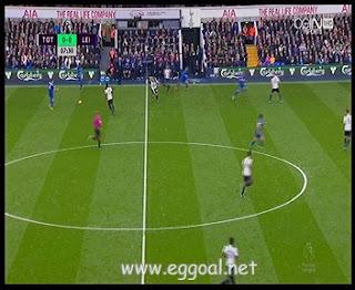 اهداف مباراة توتنهام هوتسبير وليستر سيتي  الدورى الانجليزى
