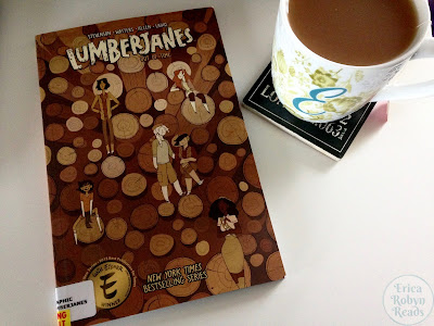 Lumberjanes volume 4 Out Of Time cover